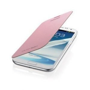Samsung Flip Cover for Galaxy Note II Martian Pink