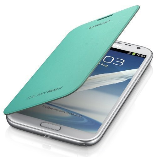 Samsung Flip Cover for Galaxy Note II Mint