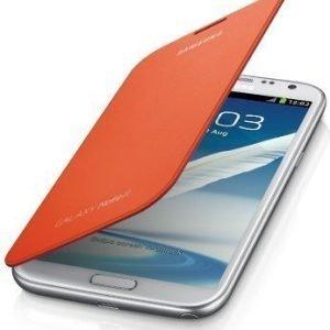 Samsung Flip Cover for Galaxy Note II Orange