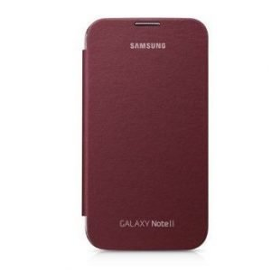 Samsung Flip Cover for Galaxy Note II Ruby Wine