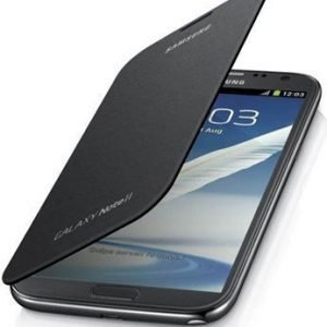 Samsung Flip Cover for Galaxy Note II Silver