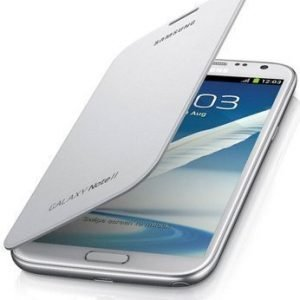 Samsung Flip Cover for Galaxy Note II White