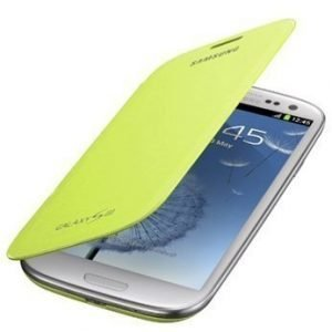 Samsung Flip Cover for Galaxy S III Light Green