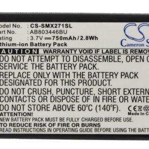 Samsung GT-B2710 xcover 271 yhteensopiva akku 750 mAh