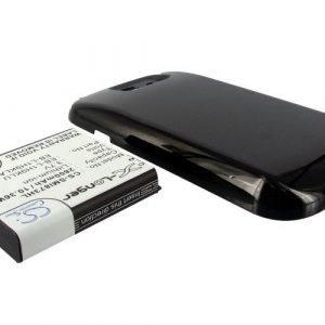 Samsung GT-I8730 tehoakku erillisellä laajennetulla mustalla takakannella 2800 mAh