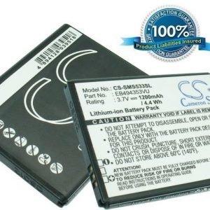 Samsung GT-S5570 Galaxy Mini GT-S5250 GT-S5330 akku 1200 mAh