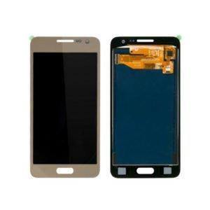 Samsung Galaxy A3 2015 Näyttö Kulta