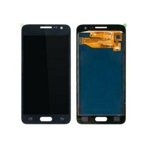 Samsung Galaxy A3 2015 Näyttö Musta