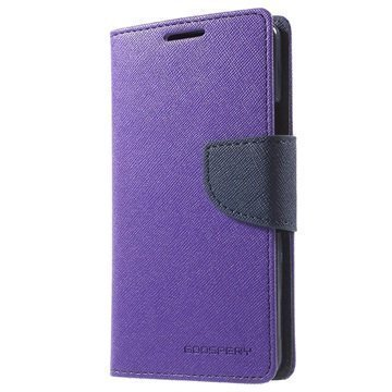 Samsung Galaxy A3 (2016) Mercury Goospery Fancy Diary Lompakkokotelo Violetti