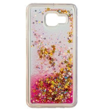 Samsung Galaxy A3 (2016) Urban Iphoria Glamour Case Gold / Pink