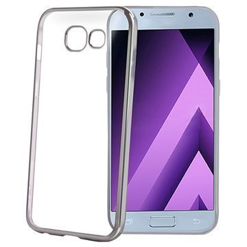 Samsung Galaxy A3 (2017) Celly Laser Cover Silver