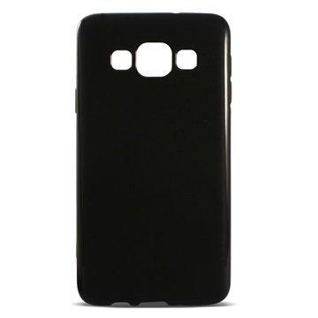 Samsung Galaxy A3 Ksix Flex TPU Suojakuori Musta