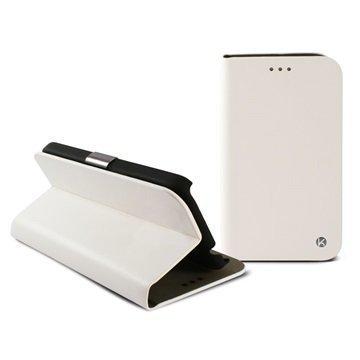 Samsung Galaxy A3 Ksix Folio Kotelo Valkoinen