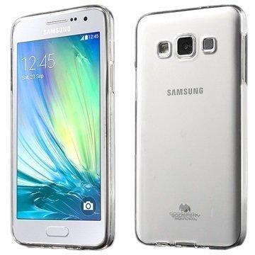 Samsung Galaxy A3 Mercury Goospery TPU Kotelo Läpinäkyvä