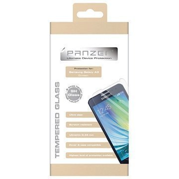 Samsung Galaxy A3 Panzer Tempered Glass Screen Protector