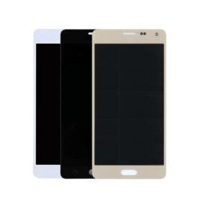 Samsung Galaxy A5 2015 Näyttö Hopea