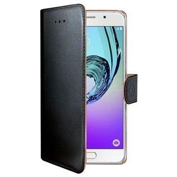 Samsung Galaxy A5 (2016) Celly Wally Lompakkokotelo Musta