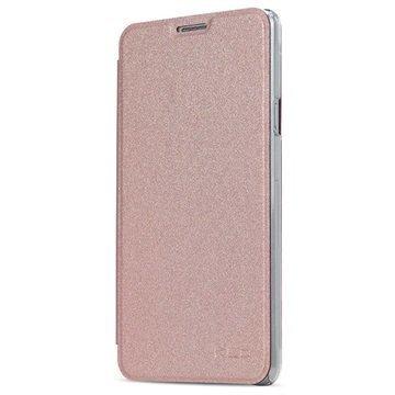 Samsung Galaxy A5 (2016) Kalaideng L Series Läppäkotelo Ruusukulta