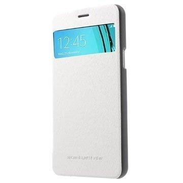 Samsung Galaxy A5 (2016) Mercury Goospery Wow Bumper View Läppäkotelo Valkoinen