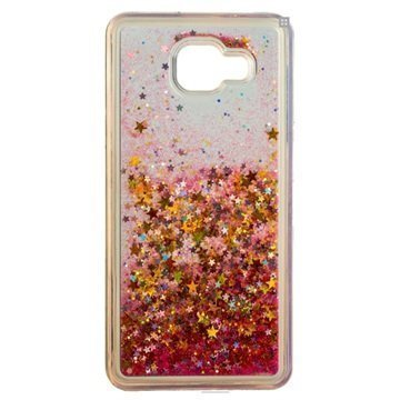 Samsung Galaxy A5 (2016) Urban Iphoria Glamour Case Gold / Pink