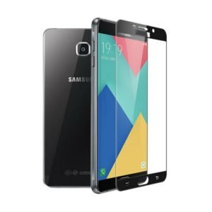 Samsung Galaxy A5 2017 Panssarilasi 2.5d Full Cover Musta