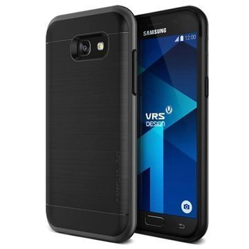 Samsung Galaxy A5 (2017) VRS Design High Pro Shield Case Dark Silver