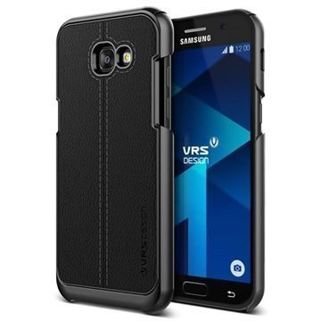 Samsung Galaxy A5 (2017) VRS Design Simpli Mod Leather Case Black
