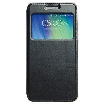 Samsung Galaxy A5 Galaxy A5 Duos Kalaideng Sun View Läppäkotelo Musta