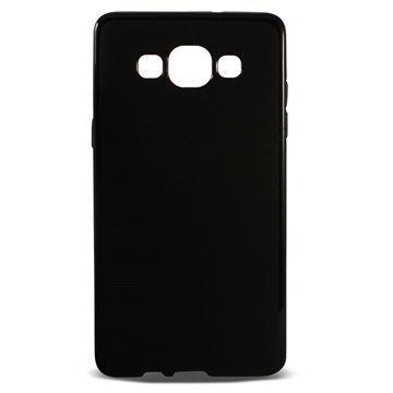Samsung Galaxy A5 Galaxy A5 Duos Ksix Flex TPU Suojakuori Musta