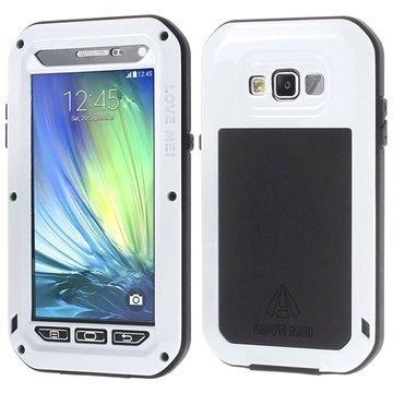 Samsung Galaxy A5 Galaxy A5 Duos Love Mei Powerful Hybrid Suojakuori Valkoinen