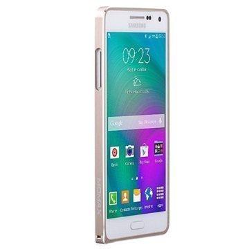 Samsung Galaxy A5 Galaxy A5 Duos Momax Pro Frame Alumiini Kotelo Kultainen