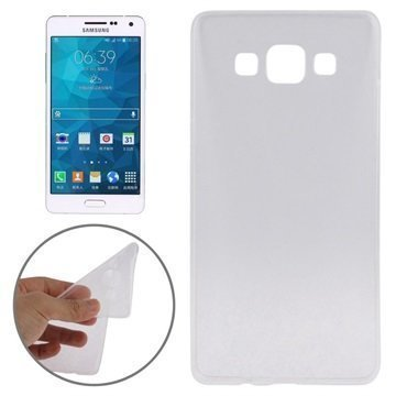 Samsung Galaxy A5 Galaxy A5 Duos Tuff-Luv TPU-Geelikotelo Kirkas