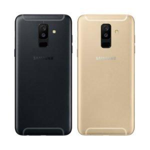 Samsung Galaxy A6+ 2018 Takakansi Musta