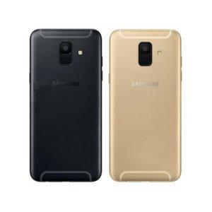 Samsung Galaxy A6 2018 Takakansi Musta