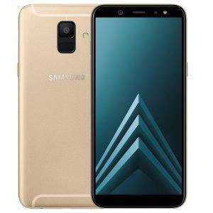 Samsung Galaxy A6 Kulta Dual Sim Puhelin