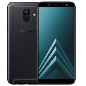 Samsung Galaxy A6 Musta Dual Sim Puhelin