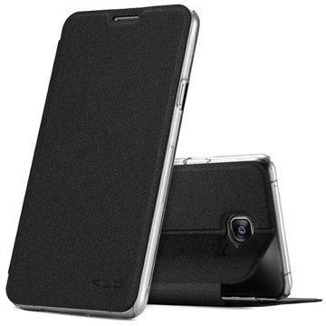 Samsung Galaxy A7 (2016) Kalaideng L Series Läppäkotelo Musta