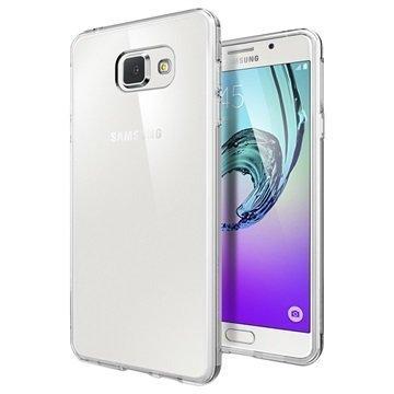 Samsung Galaxy A7 (2016) Spigen Liquid Crystal TPU Suojakuori Kirkas