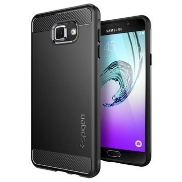 Samsung Galaxy A7 (2016) Spigen Ultra Rugged Kapselikotelo Musta