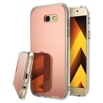 Samsung Galaxy A7 (2017) Ringke Mirror Case Rose Gold