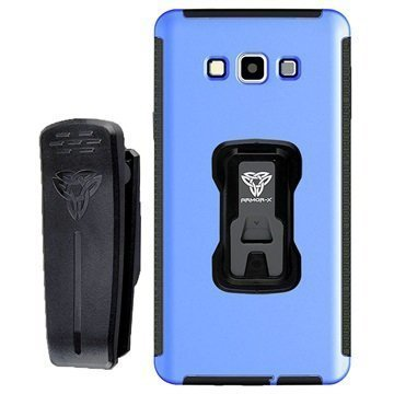Samsung Galaxy A7 Armor-X TX-SS-A7 Rugged X-Mount Case Blue