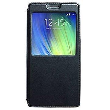 Samsung Galaxy A7 Kalaideng Sun Series View Läppäkotelo Musta