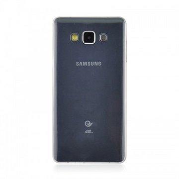 Samsung Galaxy A7 Tuff-Luv TPU-Geelikotelo Kirkas