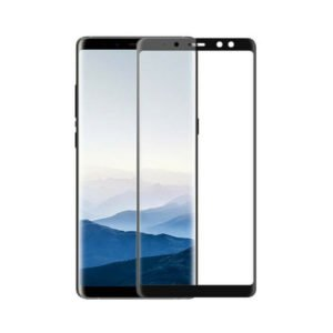 Samsung Galaxy A8 2018 Panssarilasi 2.5d Full Cover Musta