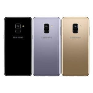 Samsung Galaxy A8 2018 Takakansi Harmaa