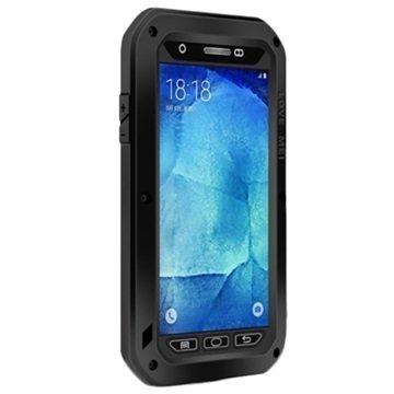 Samsung Galaxy A8 Love Mei Powerful Hybrid Suojakuori Musta