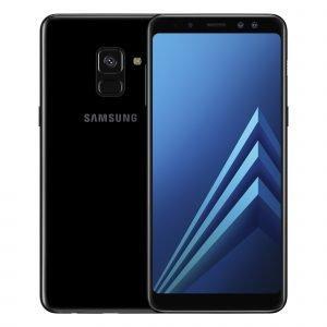 Samsung Galaxy A8 Musta Dual Sim Puhelin
