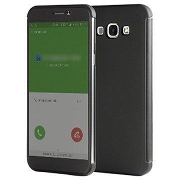 Samsung Galaxy A8 Rock DR. V Series Läppäkotelo Musta
