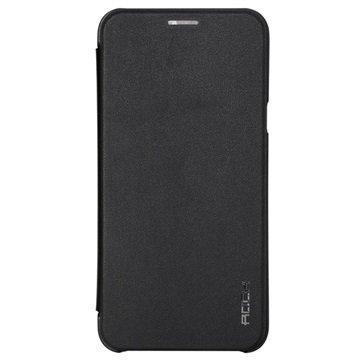 Samsung Galaxy A8 Rock Touch Series Läppäkotelo Musta