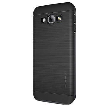 Samsung Galaxy A8 Verus High Pro Shield Series Kotelo Teräksisen Hopea